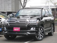 ランドクルーザーZX G−フロンティア 4WD メーカーツインナビ 寒冷地