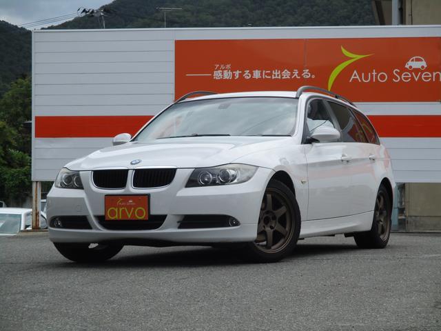 BMW 3シリーズ 320iツーリング キセノン Pスタート Pシ...