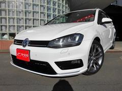 VW ゴルフヴァリアントRラインBMT 1オーナー ナビ Bカメラ フルセグ ETC