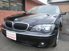 BMW750Li ナビ Bカメラ サンルーフ 黒革シート