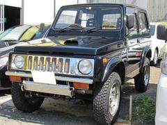 ジムニーHAバンターボ 4WD オートマ メッキグリル 社外マフラー