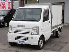 キャリイトラック保冷車 5MT エアコン パワステ 切替式4WD