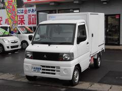 ミニキャブトラック冷凍冷蔵車 ドアバイザー パワステ エアコン 切替式4WD