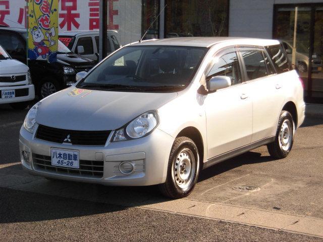 三菱 ランサーカーゴ 16G オートマ PW 社外ナビ 4WD (...