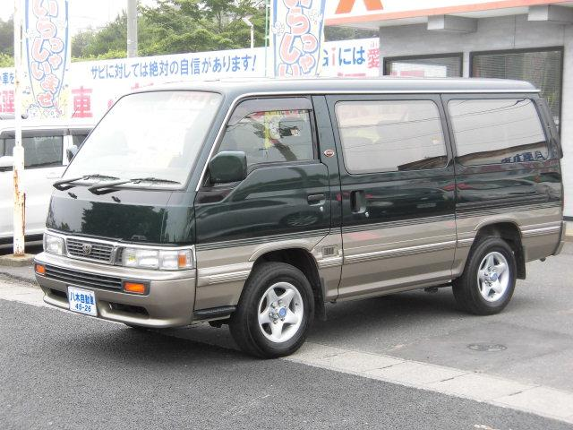 日産 GTクルーズ Wサンルーフ ETC 電格ミラー 4WD