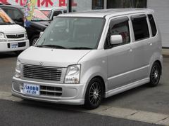 ワゴンRFT−Sリミテッド 4WD 社外アルミ CD WエアB