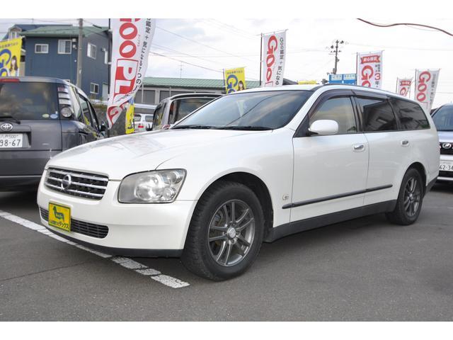 日産 ステージア 250RX FOUR 電動シート サイドエアバッ...