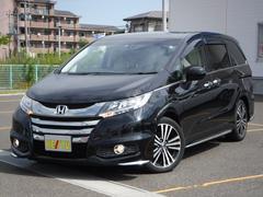オデッセイアブソルート・EX 自動ブレーキ フリップダウン クルコン