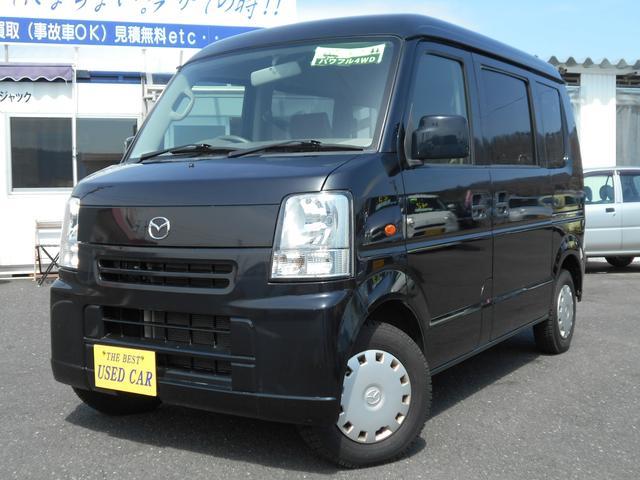 マツダ スクラム バスター 切替式4WD ABS キーレス CD ...