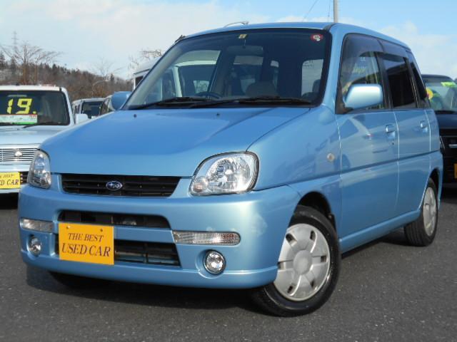 スバル プレオ L 4WD ABS キーレス CD マイルドチャー...