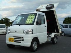 ミニキャブトラックPTOダンプ 4WD ABS エアコン パワステ ETC