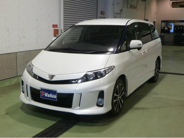 トヨタ エスティマ アエラス 4WD (車検整備付)