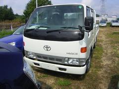 ハイエーストラックWキャブ 4WD