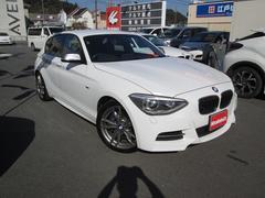 BMWM135i黒皮シート Mスポーツステアリング・18インチAW