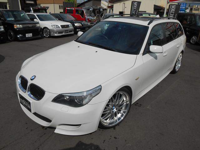 BMW 5シリーズ 525iツーリング Mスポーツパッケージ チタ...