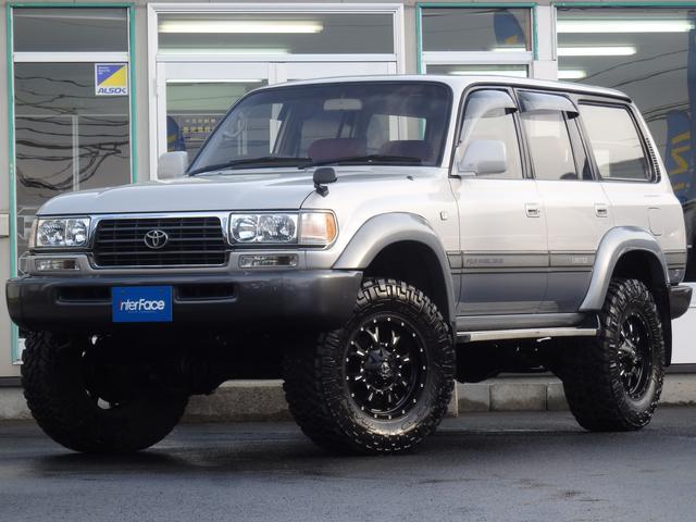トヨタ VX-LTD3インチアップFUEL18インチAW背面レス