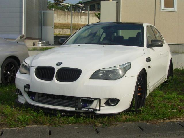 BMW 5シリーズ 545i LED ヒッチメンバー 社外20イン...