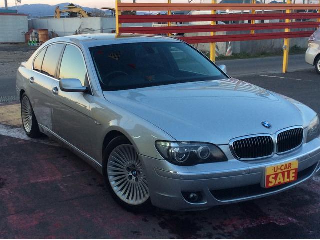 BMW 7シリーズ 750i HDD サンルーフ シートヒーター ...