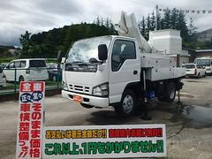 エルフトラック高所作業車 アイチSH09A 9.7M 電工仕様 2人乗り