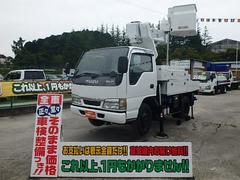 エルフトラック高所作業車 電工仕様 9.7M アイチ製 SH09A FRP
