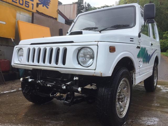 スズキ JA11V 外装仕上げ済み クロカン仕様 5MT 4WD