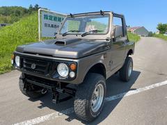 ジムニーJA11C 幌 リフトアップ クロカン仕様 5MT