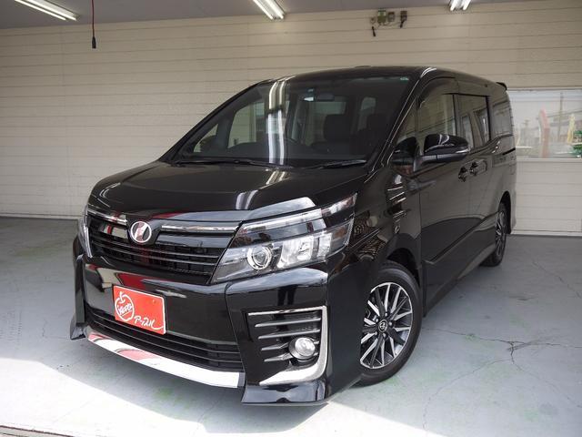 トヨタ ヴォクシー ZS 4WD サンルーフ ローダウン 両側電動...