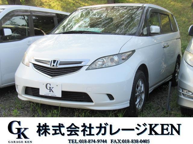ホンダ エリシオン G 4WD 純正HDDナビ DVD再生 (なし)