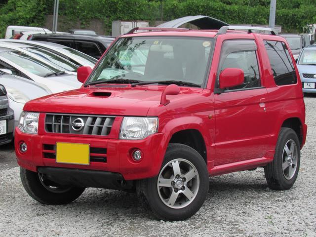 日産 RX 4WD 5速マニュアル ターボ 純正CD AUX