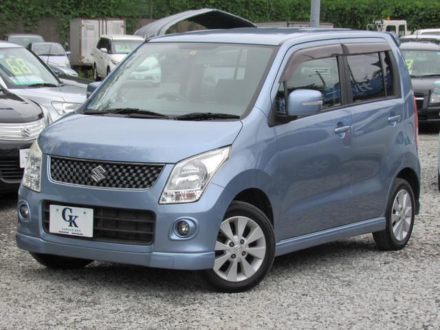 スズキ ワゴンR FTリミテッド 4WD ターボ 純正CD オート...