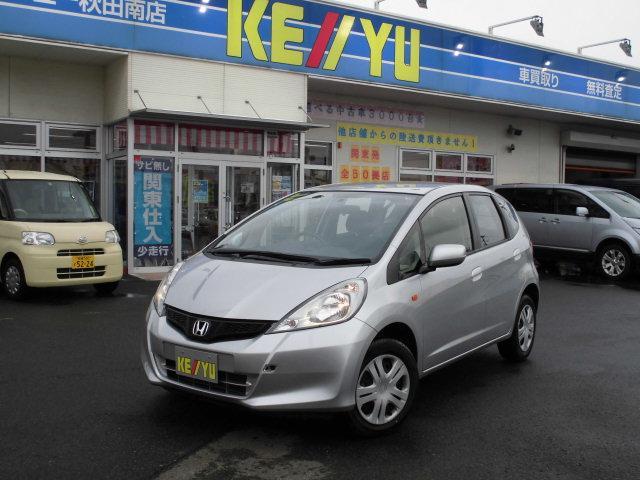 ホンダ フィット G 後期型 4WD 寒冷地 CD ETC スタッ...