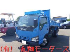 エルフトラック3t4ナンバー 高床強化ダンプ 3000kg積 関東仕入