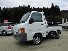 サンバートラックベースグレード 4WD マニュアル5速