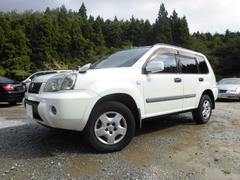 エクストレイルS 4WD 社外ナビフルセグTV カプロンシート キセノン