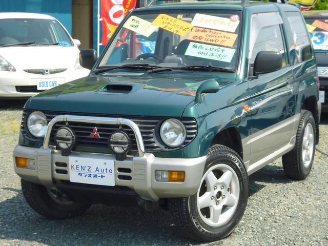 三菱 パジェロミニ VR−II 4WD ターボ (車検整備付)