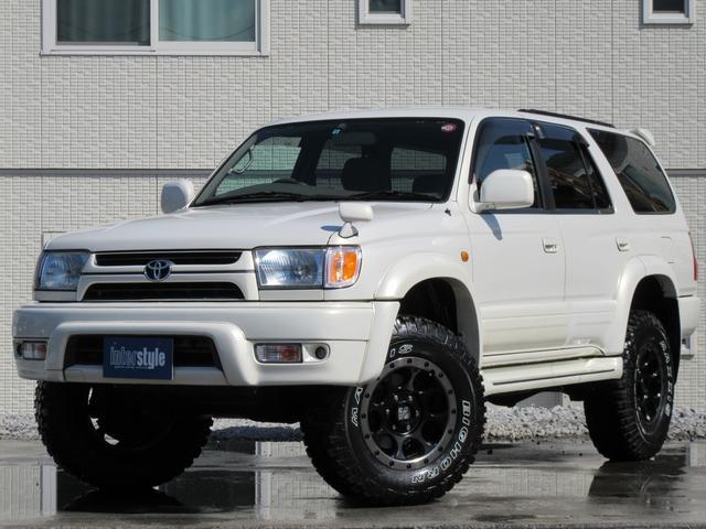 トヨタ SSR-X ホワイトプレミアム後期最終型リフトUP新品タイヤ