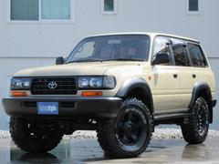 ランドクルーザー80VX−LTD新品BKヘッドライト新品タイヤホイルHDDナビ付