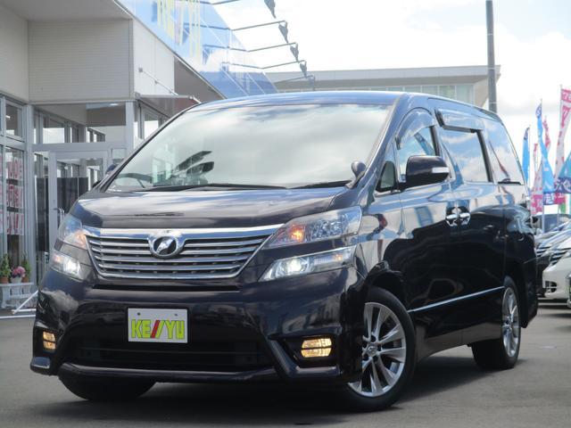 トヨタ 2.4Z プラチナセレクション2 4WD HDDナビ両側電動