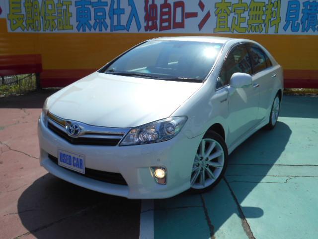 トヨタ G HDDナビ Fカメラ Rカメラ パワーシート 1オーナー
