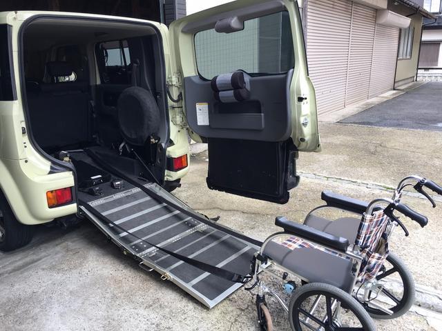 日産 SX 70th 福祉車両 車イススローパー5人乗り 電動固定