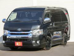ハイエースワゴンGL 4WD 新品ベッドキット プチキャンパー セキュリティ