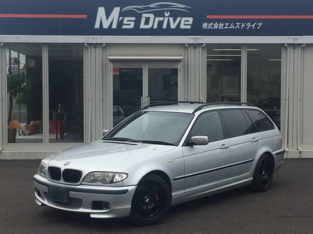 BMW 3シリーズ 318iツーリング Mスポーツ 社外イカリング...