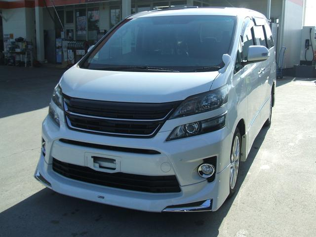 トヨタ 3.5Z LEDグリル サンルーフ アルパインナビ