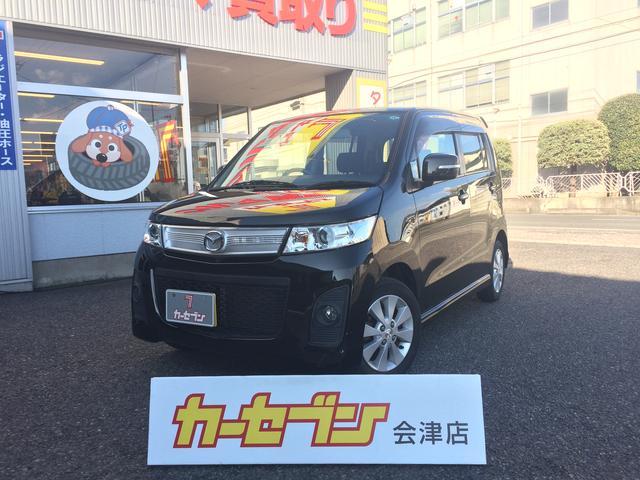 マツダ AZワゴンカスタムスタイル XT 4WD ターボ パドルシ...