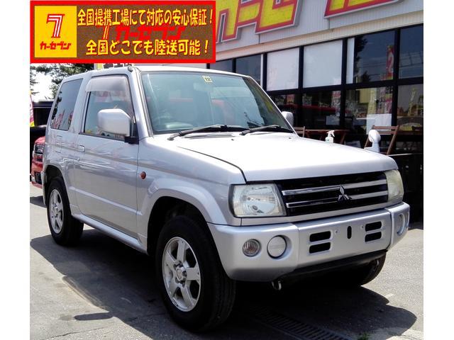 三菱 パジェロミニ XR 4WD オートマ エアコン 全国対応GO...