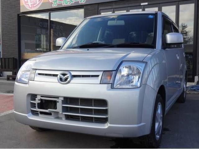 マツダ キャロル X 4WD シートヒーター キーレス ABS (...