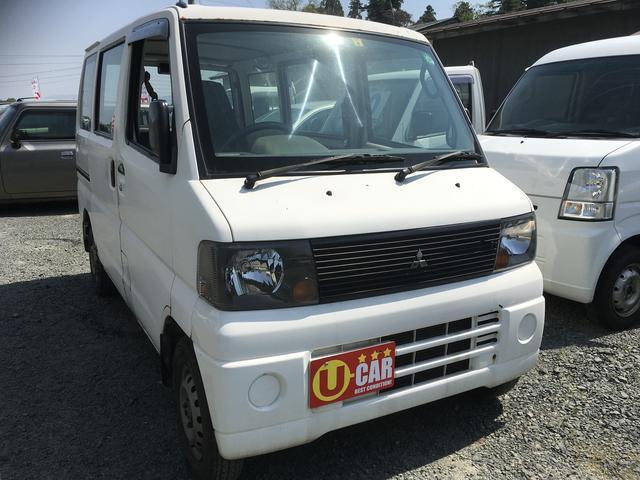 三菱 ミニキャブバン 4WD (なし)