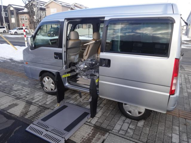 スバル ディアスワゴン ベースグレード4WD 福祉車両 車椅子移動...