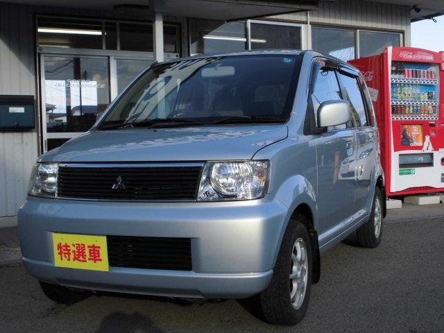 三菱 eKワゴン M 4WD CD キーレス リアスポイラー アル...