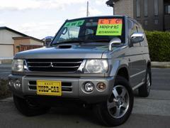 パジェロミニアクティブフィールドエディション 4WD ターボ HDDナビ